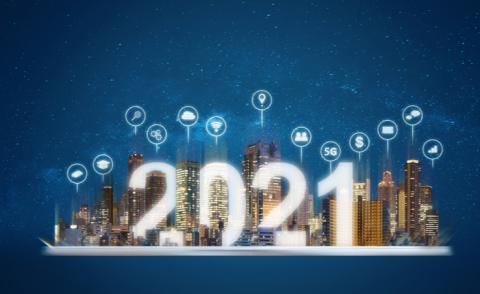 2021 new smart technology, and new technology trend in 2021 © Sasin Paraksa - Shutterstock